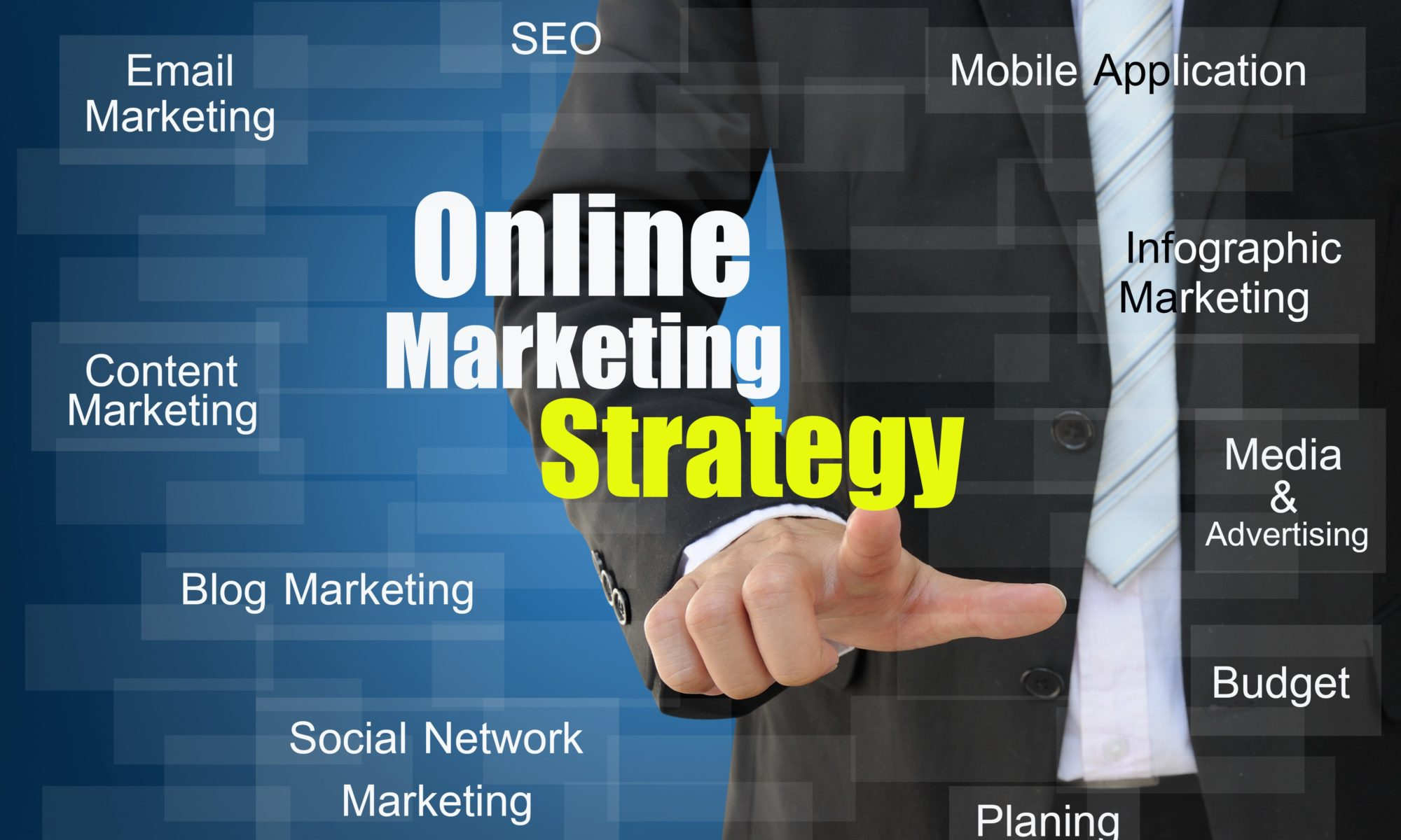 Online visibility strategy